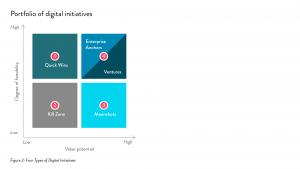 Figure 2: Four Types of Digital Initiatives